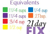 21 Day Fix / ideas
