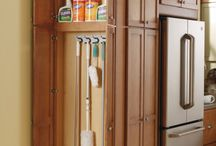 Home- kitchen organization / by Wanda Caro