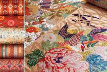 flower in fashion / textile design