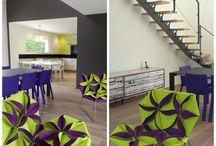 Réaménagement by Idees dans la Maison / Decoration by Idees dans la Maison