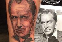Portrait Tattoos / Tattoo art by Arild Flatebo