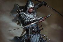 Ninjas & Assassins / by Juan Miranda