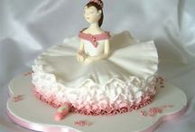 Ballerina cake / by Fancy Fondant Cakes by Emily Lindley