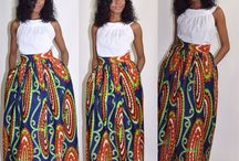 African Inspired Lookbook / African prints are all the rage. This board is a central place to chronicle the many ways you can incorporate this into your wardrobe.