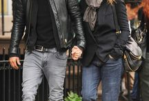 Couple looks
