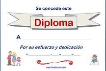 Diplomas y marcos