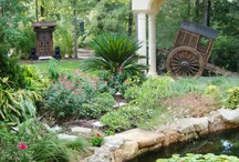 Garden Ponds / Garden ponds can be big or small - whatever your style, space and budget permit, here's a ton of garden pond ideas.