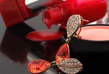 Küpe-Earring / Swarovski Australian Crystal Accessory