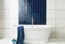 Bathroom Wall Tile / Wall tile inspiration for your next home project.