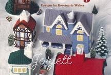 crochet house, cottages