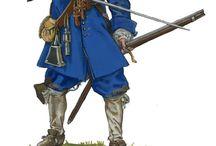 The swedish armee 17th century