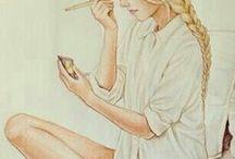 rysunki i obrazy
