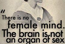 female / feminist icons