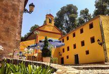 Santuari de Santa Marina / El Santuari de Santa Marina està format actualment per cinc edificis: l'ermita, la casa de la Font, la casa dels ermitans, la Casa Gran i l'antic balneari i està inclòs a l'Inventari de Patrimoni Arquitectònic de la Generalitat de Catalunya.