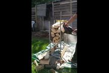 Brennholz schneiden