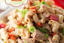 Salads / by Larry N Jamie Bloomfield
