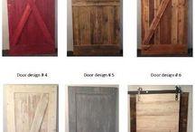 pallet wood doors