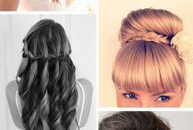 Ball hairstyles  / Hair inspiration