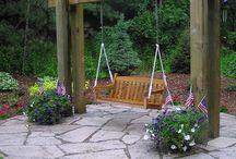 Wooden swings / by Deb Twiet