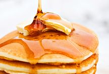Pancakes & Breakfast Goodies / crepes, waffles, French toast, latkes, blinis, arepas, hojaldras, fritters, breakfast goodies... / by The Tasty Word (Tess)