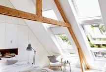 Attic Bedrooms / Le foto più belle di camere da letto sottotetto