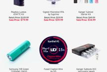 Awesome Vape Deals / Some of the best vape gear and e-liquids around at incredible prices!