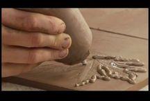 Керамика-различные виды техники