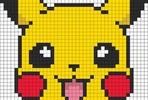 Punto de Cruz de pikachu