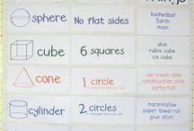 Teaching Math / Math lesson plans, crafts, manipulatives, workbook ideas, etc.