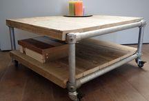Hupten meubels om te maken