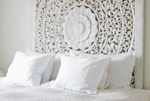 Bedroom decor / Marrokan headboard