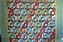 Famille des 60° / Quilts faits de formes ayant des angles de 60°