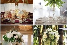 Wedding Centerpieces / Centerpieces are the focus point of all receptions.
