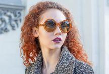Autumn Fashion Outfit #1 / A cute Autumn Fashion Outfit wearing the oversized round Giuliani Occhiali sunglasses model H91