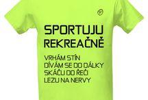 trička na sportování / Tričko na sport