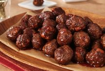 Meatballs / Using grape jelly and  chili sauce