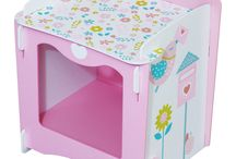 Kidsaw Country Cottage Range / A girls ranged based on the country.
