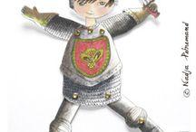 Anniversaire chevalier