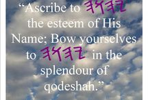 Shabbat Shalom! All esteem to YAHWEH!