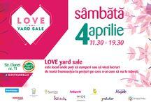 Love Yard Sale / LOVE Yard Sale este locul unde poţi să cumperi sau să vinzi lucruri de toată frumuseţea la preţuri pe care n-ai cum să nu le iubești.