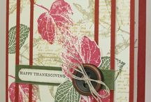 Thanksgiving Cards / by Cathy Bonacorsi