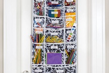 Shoe pockets can be used for... / Shoe organizers that go on closet doors & have shoe pockets are useful on almost any door! Found in plastic, mesh & fabric as well as with various sized pockets, the organizing possibilities for shoe pocket organizers are endless. For durability, have 3 or 4 hooks at the top.