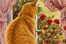 chat à la fenetre