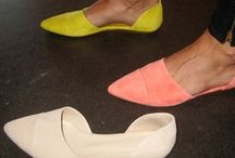 D'orsay shoes.