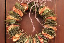 Wreaths / Because a front door is bare & unwelcoming without one!