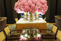 Fabulous Florals / Beautiful flower arrangements around Rosewood hotels and resorts.