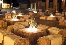 Outdoor wedding deco
