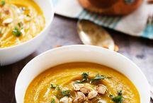 Gut Healing Soups. / nourishing and gut healing soup recipes. gluten-free and dairy free recipes.