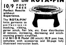 Rota pin / Knitting