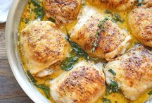 Chicken / Lemon butter